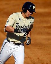 Vanderbilt outfielder JJ Bleday entered Sunday with 26 home runs.