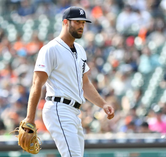 Tigers starter Daniel Norris, shown here in a game earlier this season, allowed six runs (five earned) on six hits in 5.1 innings Saturday in Atlanta.