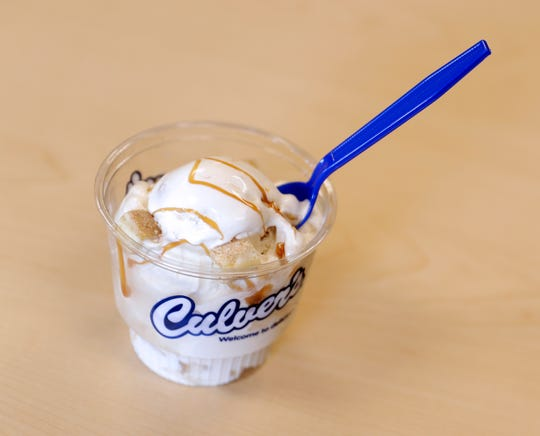 Dulce de Leche Cheesecake, a new flavor of the day custard at Culver's, will be released on August 10, 2019.