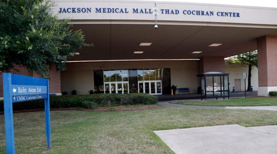 One of many buildings named for the late Mississippi Sen. Thad Cochran is the Jackson Medical Mall Thad Cochran Center, an 800,000-square-foot former retail space that now houses physicians' offices, an outpatient cancer treatment center and other medical operations, photographed Friday, May 31, 2019, in Jackson, Miss.
