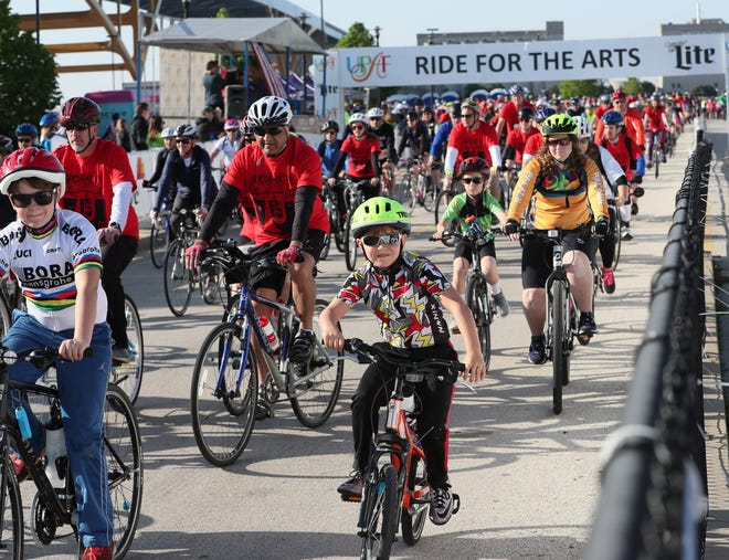 The United Performing Arts Fund has turned this year's Ride for the Arts on June 14 into a virtual event. You can ride, walk or run with anyone from any starting point.