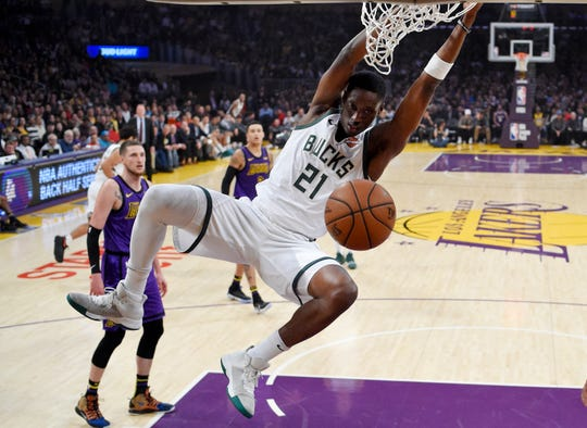 Tony Snell was a regular in the Bucks rotation but found himself sitting on the bench during the playoffs after returning from a sprained ankle he suffered late in the season.