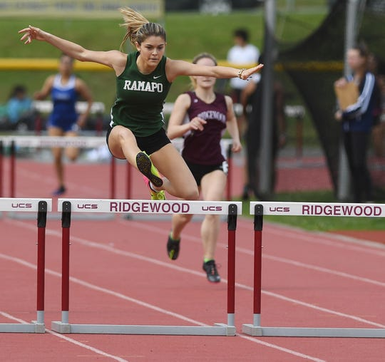 Grace O'Shea is aiming to go as low as 13.50 in the state Meet of Champions 100 hurdles race.