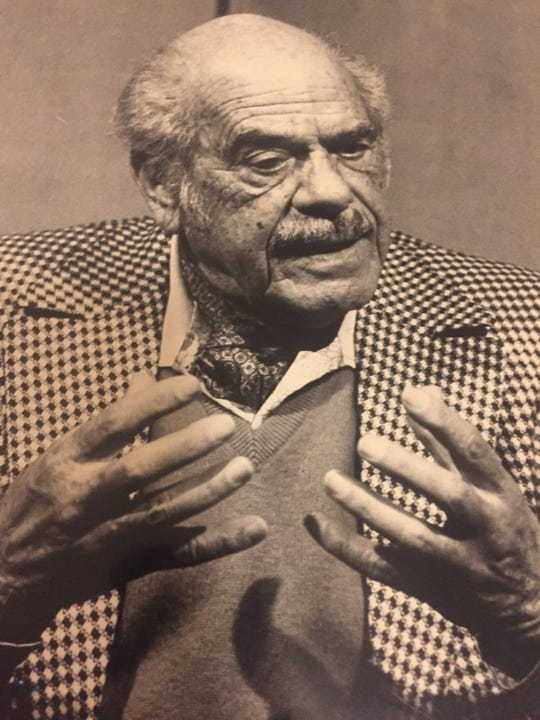 """Frank Capra, the director of """"It's A Wonderful Life"""" and three films that earned him Best Director Academy Awards in five years in the 1930s, was interviewed by Bruce Fessier in 1983 at his bungalow at the La Quinta Resort."""