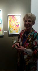 Kay Jelinek won Best of Show at the 11th annual Golden Frame Awards.