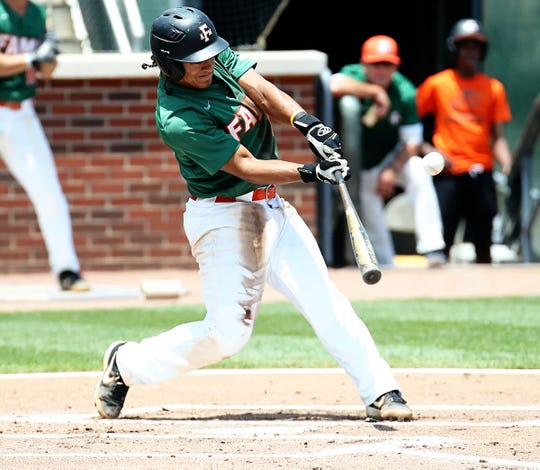 FAMU second baseman Octavien Moyer went 2 for 5 versus Coastal Carolina in the Atlanta Regional of the NCAA tournament on Saturday, June 1, 2019.