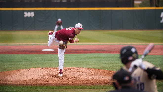 Elon pitcher George Kirby, a Rye graduate, is projected to be a first round draft pick in the upcoming MLB Draft.
