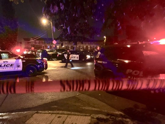 A 40-year-old woman and a 25-year-old manon Saturday were shot in the 1100 block of E. 13th St. in Wilmington.