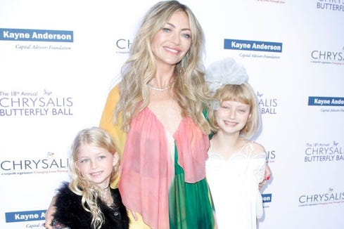 Rebecca Gayheart and her daughters, Georgia and Billie.