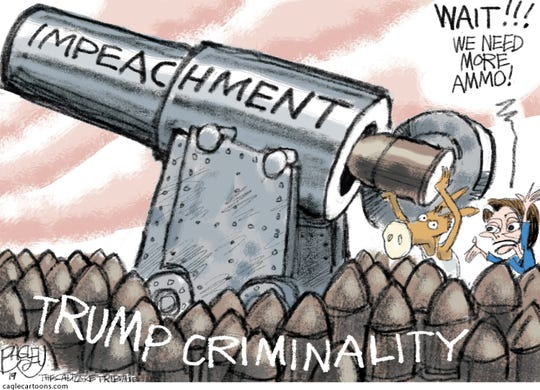 Image result for CARTOONS DEMOCRATS IMPEACHMENT