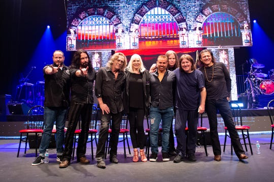 Dio Returns will be at the Paramount Theatre in Asbury Park on Saturday, June 8. Wendy Dio is pictured, center.