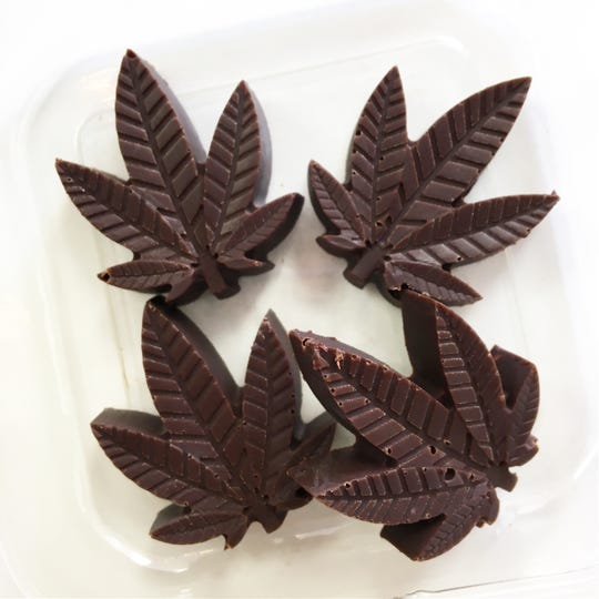Vegan, organic, CBD-infused chocolates are available at Seed to Sprout Bakery in Ocean Township.
