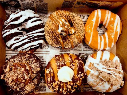 A selection of donuts from Main Street Donuts in Belmar.