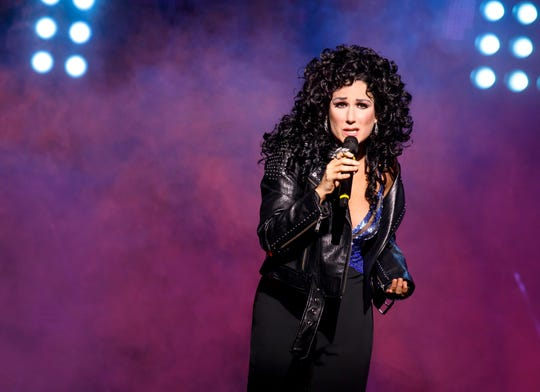 "Stephanie J. Block in a scene from ""The Cher Show."""