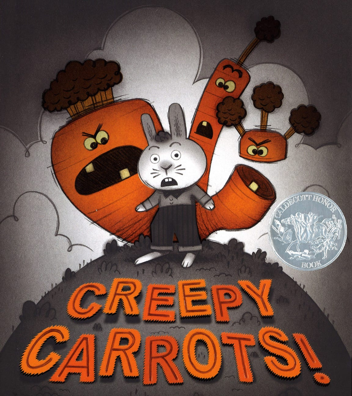 "Peter Brown's award-winning ""Creepy Carrots!"""