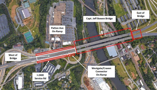 A North Carolina DOT analysis of collisions on and near the Capt. Jeff Bowen Bridge found there were 371 total crashes over the most recent three-year span, which equates to an average of 124 crashes per year.
