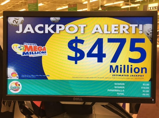 The Mega Millions jackpot continues to rise