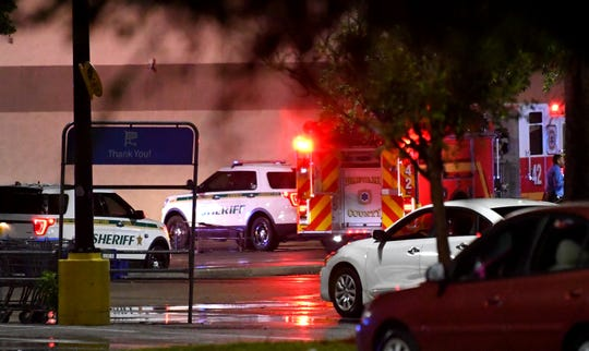 A fatal shooting at the Merritt Island Walmart the night of June 2, 2019  resulted in the store being evacuated, as dozens of law enforcement and first responders arrived.