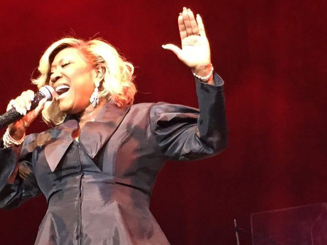Patti LaBelle sings at the Flynn Center during the Burlington Discover Jazz Festival on June 2, 2019.