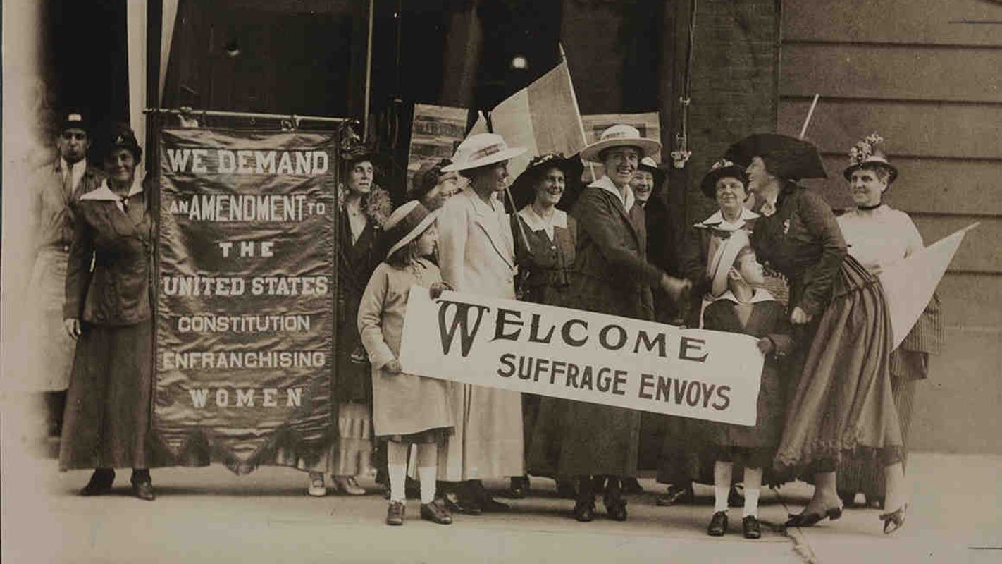 Today in History, June 4, 1919: Congress approved 19th amendment allowing women to vote