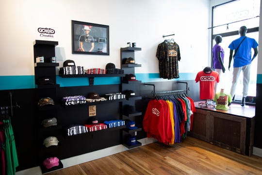 The GO(O)D Company Apparel store in the Over-the-Rhine neighborhood of Cincinnati on Monday, June 3, 2019. GO(O)D Company Apparel has been open in OTR since November 2018 and sells a variety of apparel and lifestyle products.