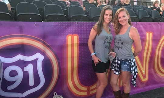 Leighanne Donnelly and Tiffany Rodriguez survived the Las Vegas Route 91 Harvest Festival where a gunman killed 58 people from inside the Mandalay Bay Hotel.