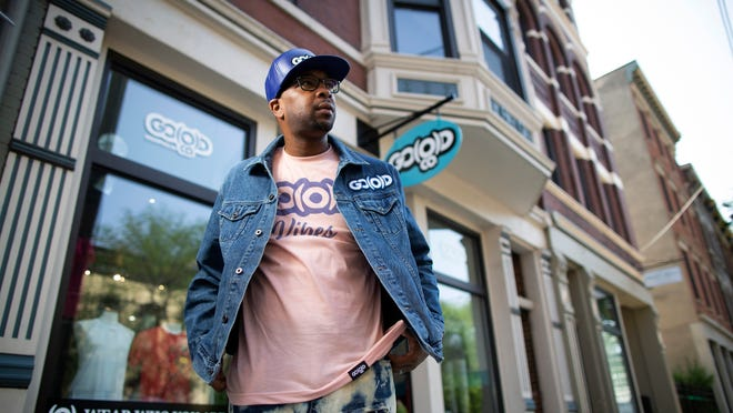 Go O D Company Apparel Combines Fashion With A Positive Message Clothes of a particular type when they are being sold in a shop: go o d company apparel combines fashion