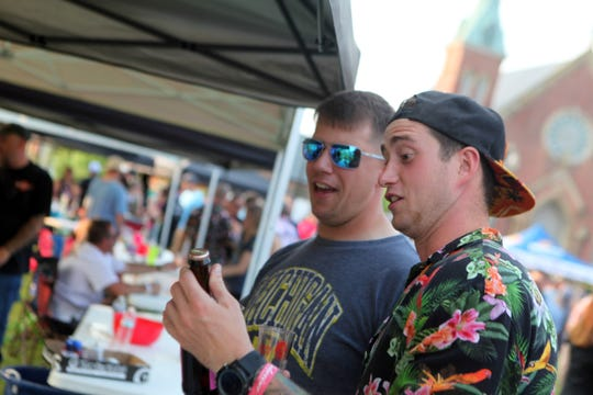 More than 1,000 beer enthusiasts came out for BWC's annual Red White & Brewfest at Clarksville's Downtown Commons on Saturday, June 1, 2019.