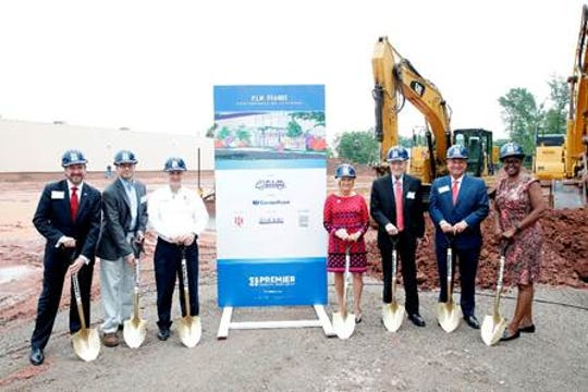 Promotion in Motions recently held a groundbreaking for an expansion to its candy factory in Franklin.