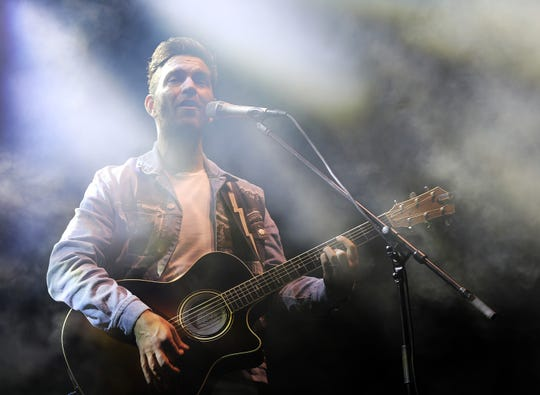 Andy Grammer performs in this file photo.