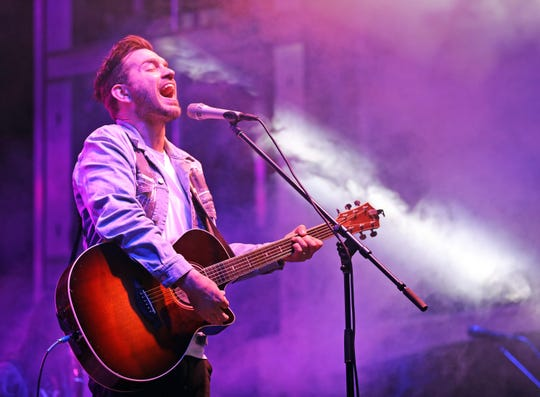 Andy Grammer performs in this June 1 file photo.