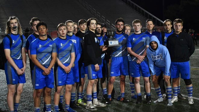 The Bondurant-Farrar rugby team took second place in the Class 1A state tournament, falling 21-16 to Waterloo in the title game.