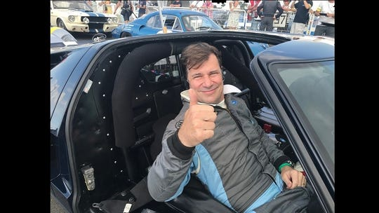 In July 2018, Jim Farley realized a lifelong dream when he was selected to enter his 1965 Ford GT40 in the biennial Le Mans Classic in France. The vintage racing event replicates the 24 Hours of Le Mans, but instead of running 24 hours nonstop the classic runs three 45-minute heats over a 24-hour period that includes night racing. Vintage racing in Europe is highly competitive.