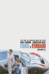 Poster for 'Ford v. Ferrari' from 20th Century Fox