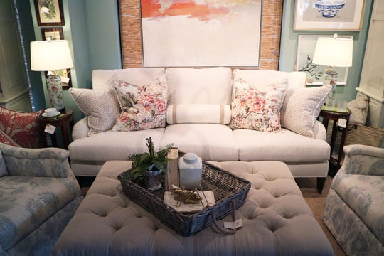 Make your throw pillows pop by offsetting your favorites with neutral partners.