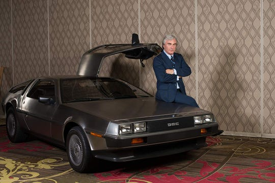 "Alec Baldwin in ""Framing John DeLorean."""