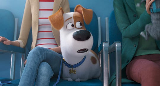 "Patton Oswalt voices Max in ""The Secret Life of Pets 2."""