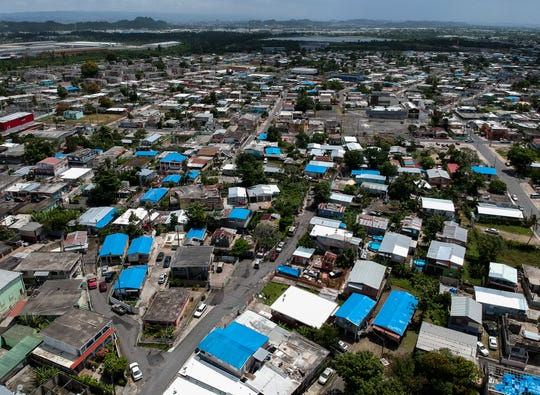 This is the Amelia neighborhood in the municipality of Catano, east of San Juan, Puerto Rico, on June 18, 2019.