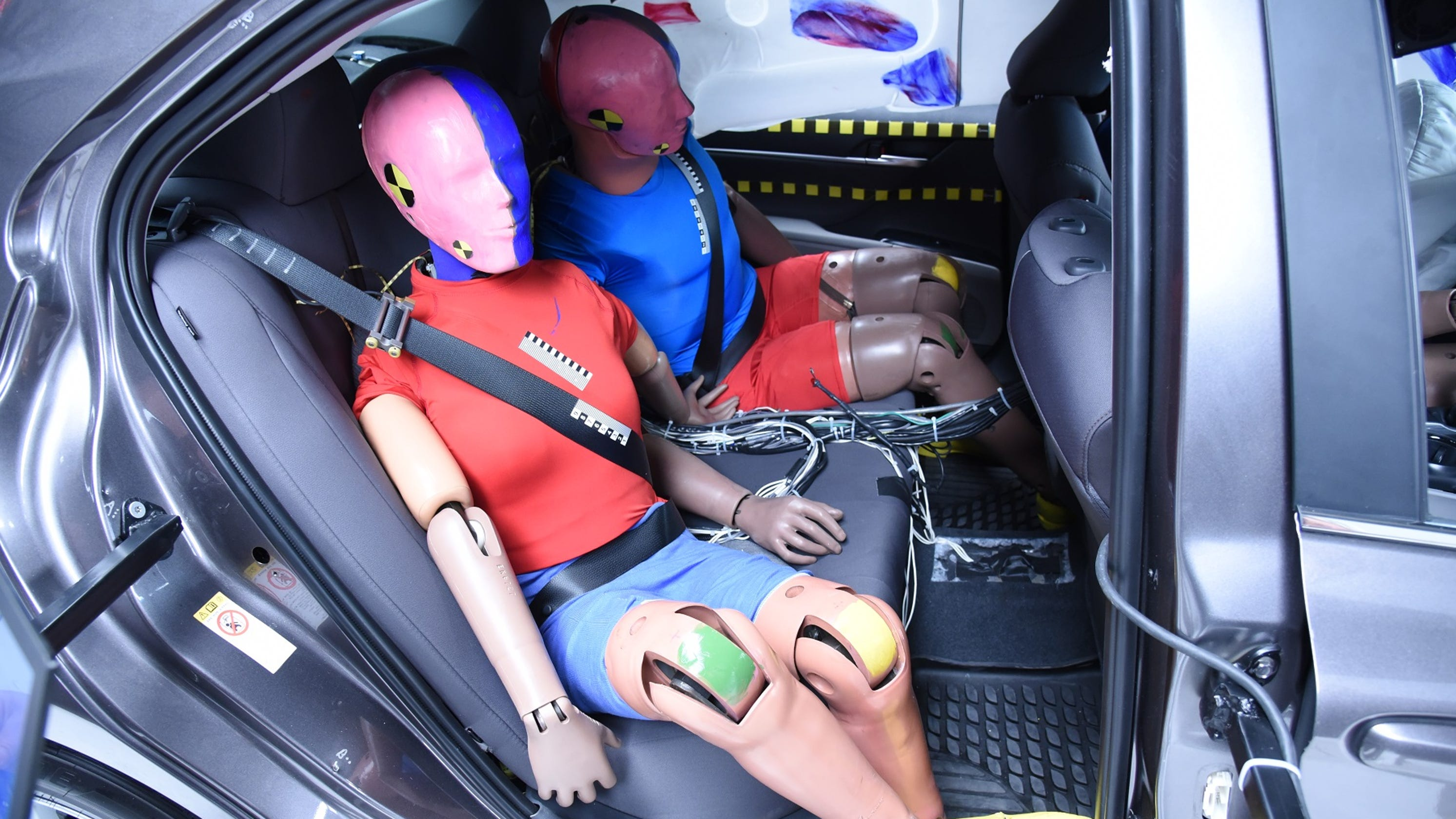 Car Safety Takes A Back Seat For Passengers In The Rear