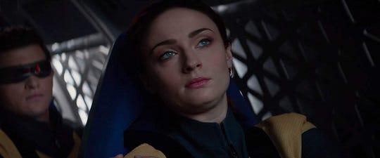 """Tye Sheridan and Sophie Turner in """"Dark Phoenix."""""""