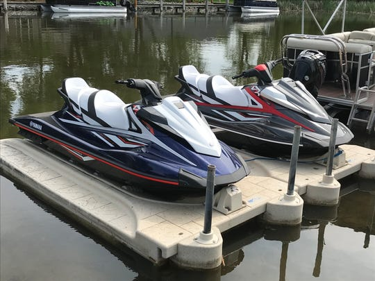 Currently available for rent are two three-seat 2019 Yamaha VX HO Cruisers WaveRunners and a ski/fishing pontoon boat with a 115-horsepower Mercury motor, featuring a fishing well, awning and fishing pole holders. More watercraft will be added with demand.;