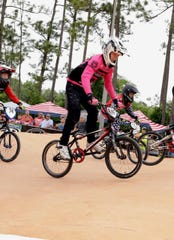 Noah Riser, 13, achieved a state ranking and qualified for the BMX Nationals in Tulsa, Oklahoma in November