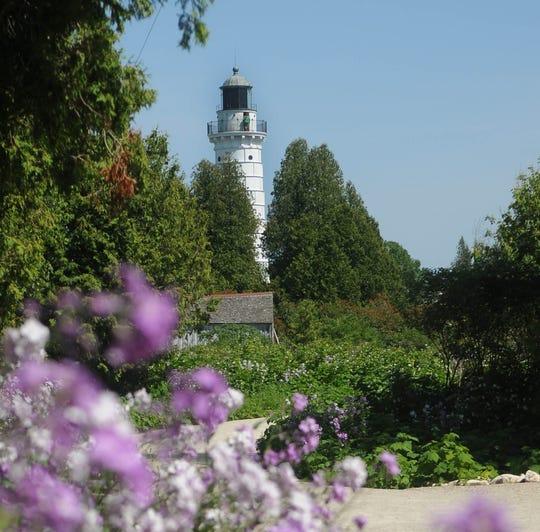 Cana Island Lighthouse in Baileys Harbor.