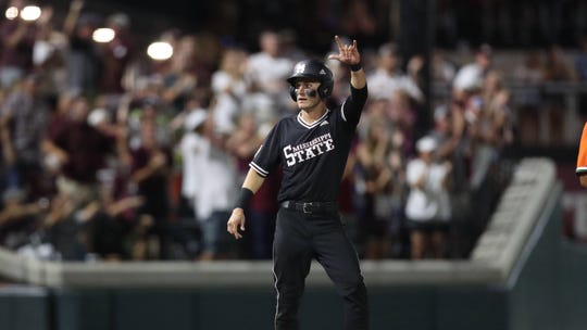 Mississippi State senior center-fielder Jake Mangum made it to the Super Regional round of the NCAA Tournament in every year of his career.