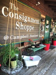 Paige York Sibold purchased The Consignment Shoppe which is conveniently located near restaurants, Turkey Creek shops and the interstate.