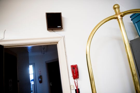 A new speaker system will be installed at Fire Station No. 11 at 2600 Whittle Springs Road in Knoxville.