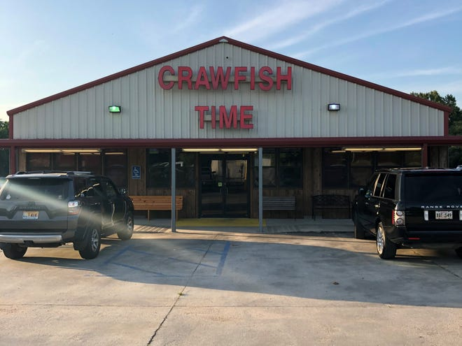Crawfish Time has been voted the best boiled crawfish for many years in a row. Their secret to having good crawfish is having their own farms according to co-owner Brant Lamm.