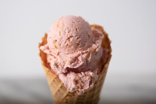 Graeter's bonus flavor No. 2 for the summer season is Amaretto Crunch.