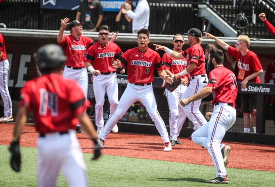Scenes from the Louisville-Illinois State Regional game Monday, June 3, 2019.