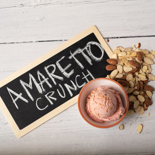 Graeter's bonus flavor #2 for the summer season is Amaretto Crunch announced June 3